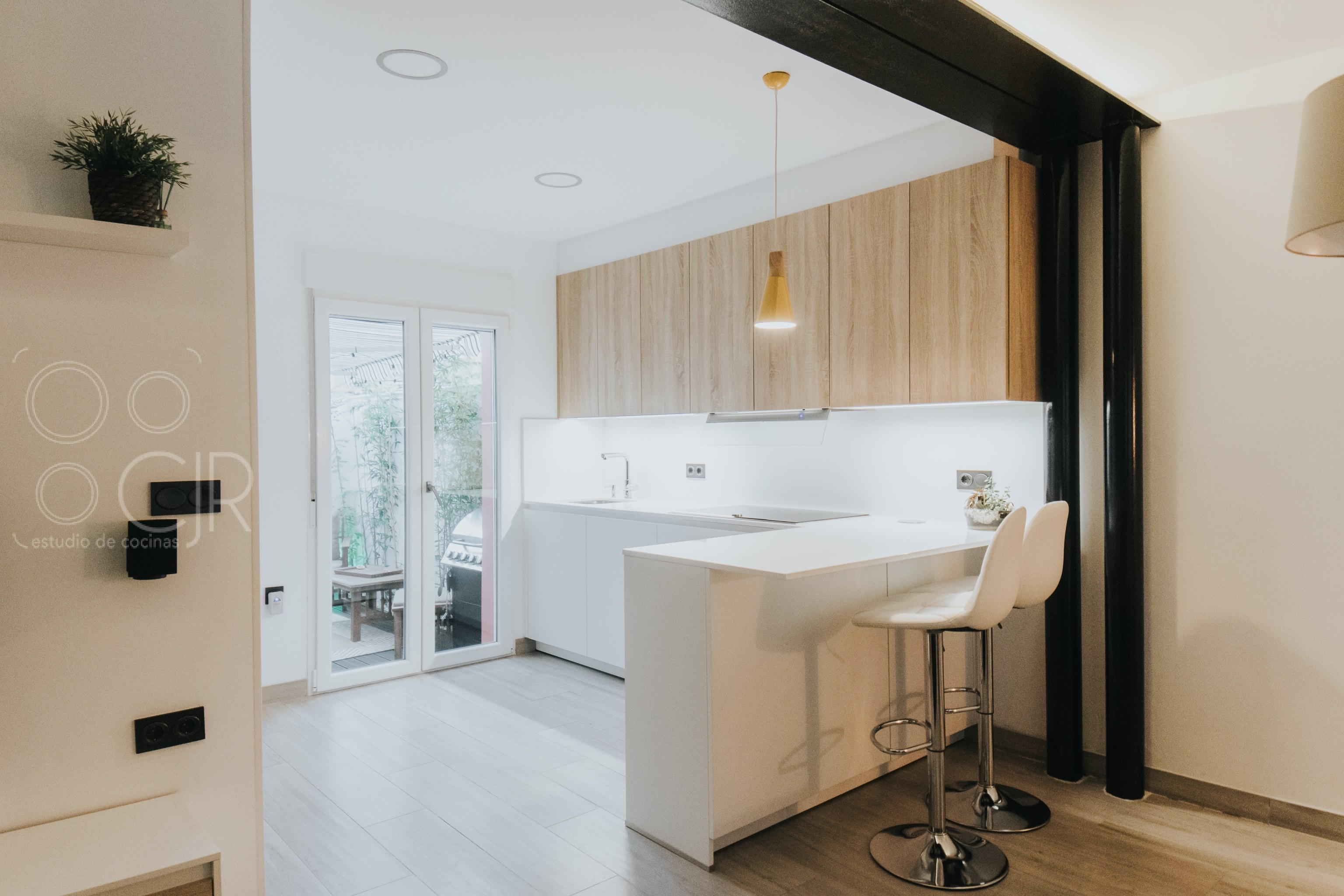 cocina abierta al salon modernas