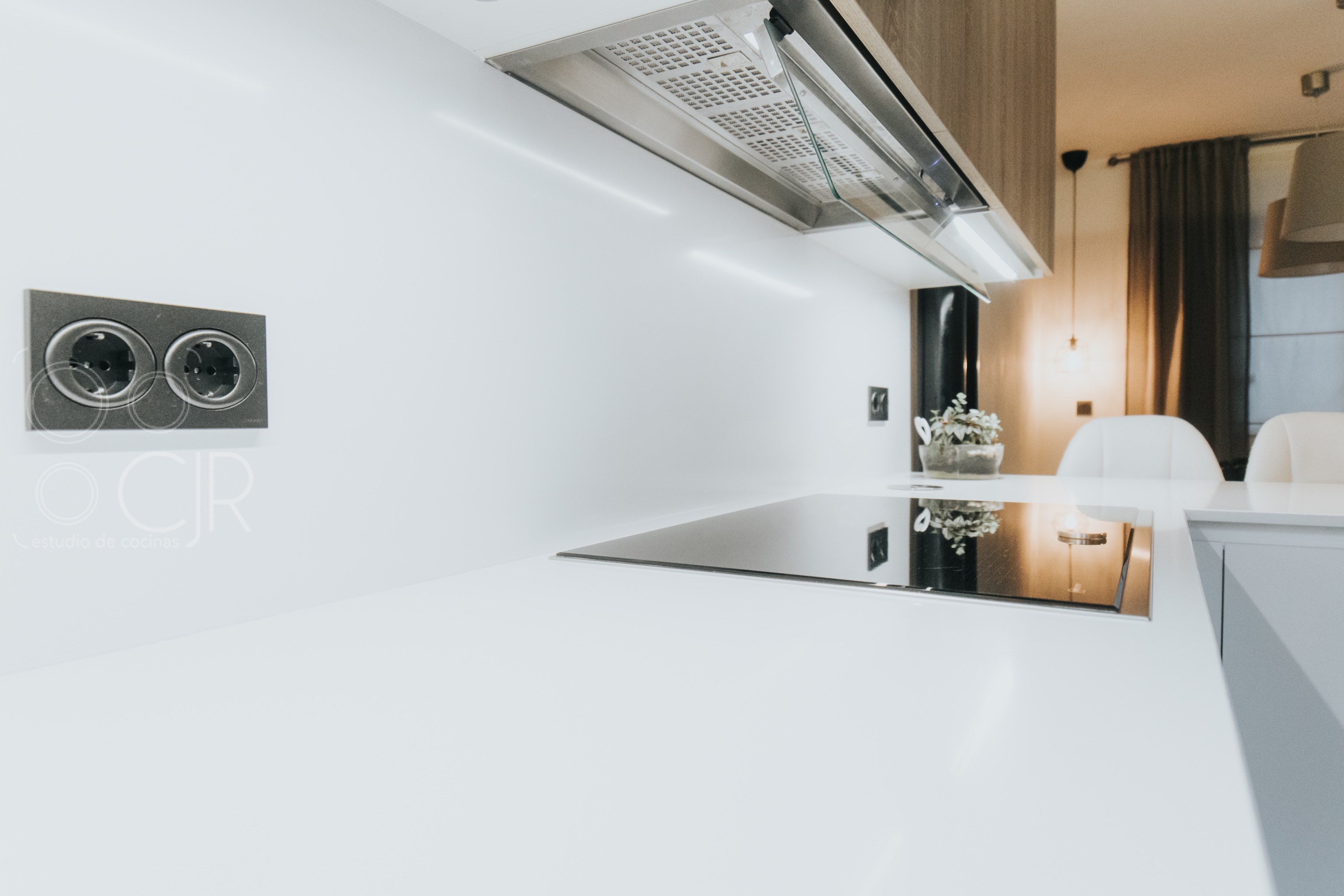 campana integrada cocinas modernas