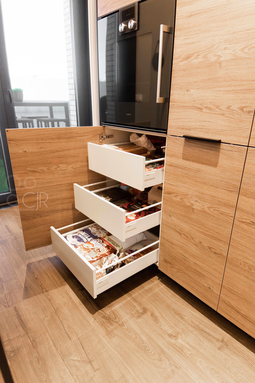 cajones interiores para cocinas