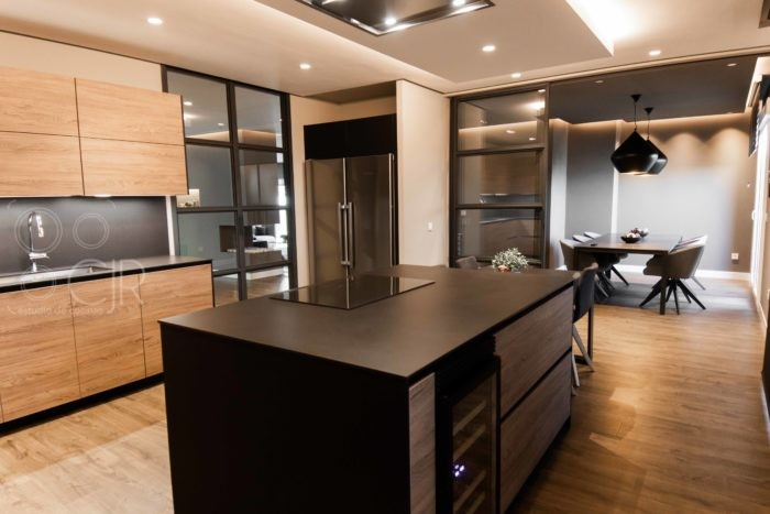 cocinas con isla modernas