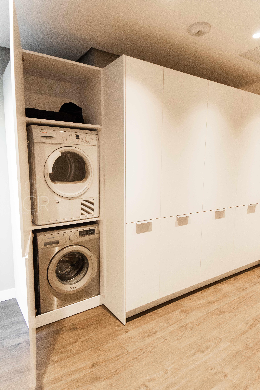 sala de lavanderia en casa