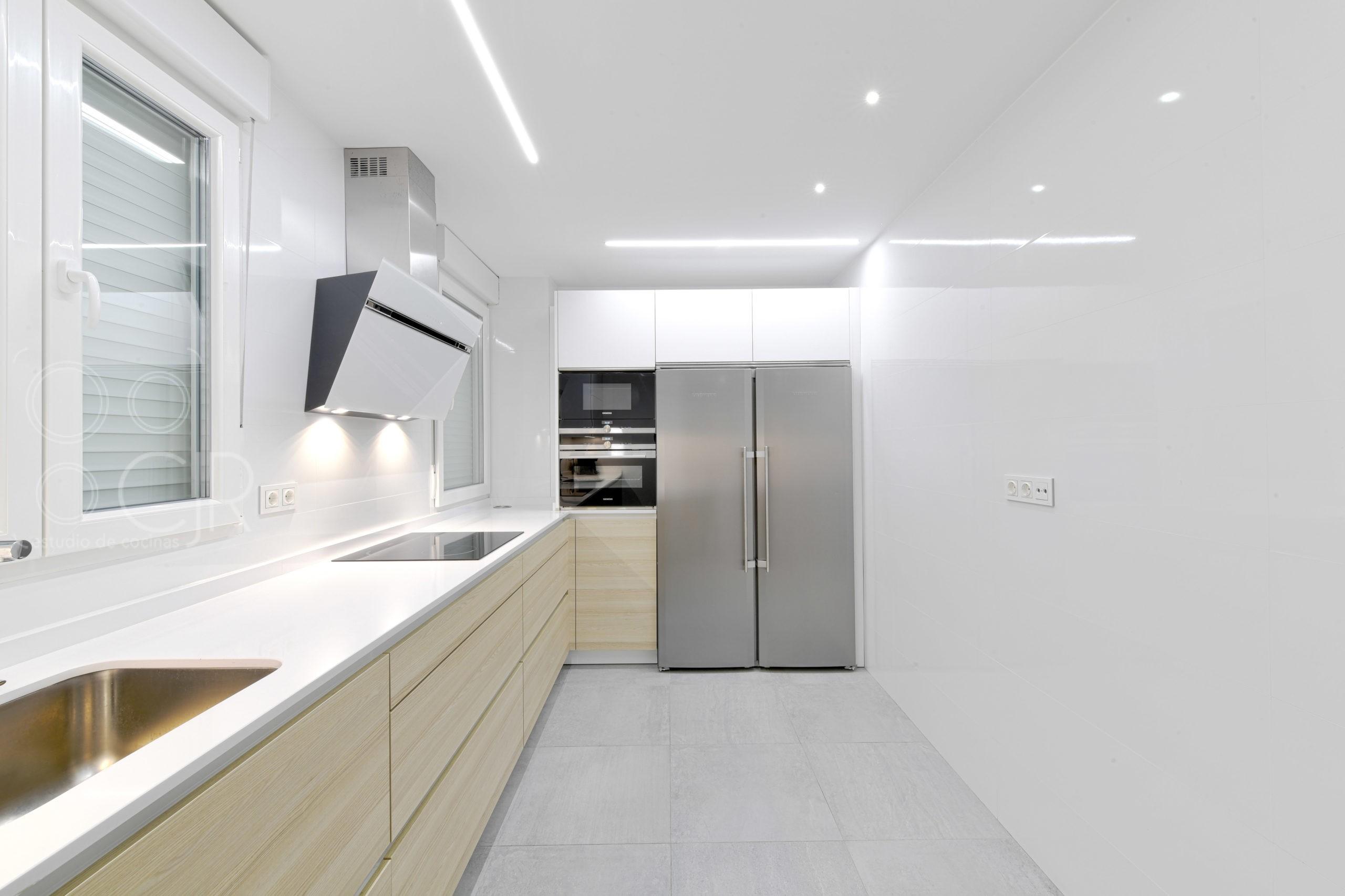 iluminacion led para cocinas modernas
